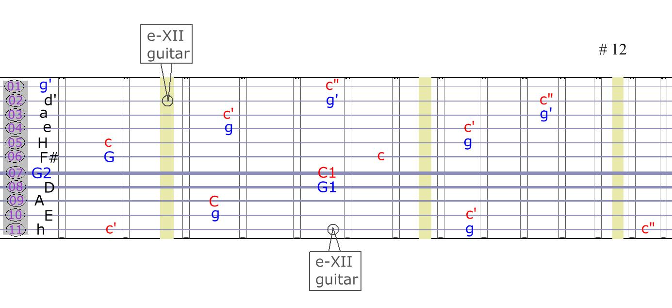 Tapping in Matched Reciprocal tuning