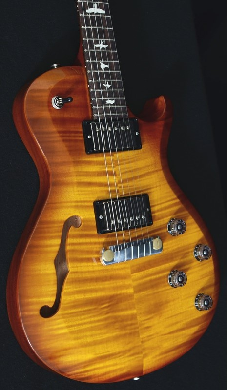 PRS S2 Semi Hollow Violin Amber Burst